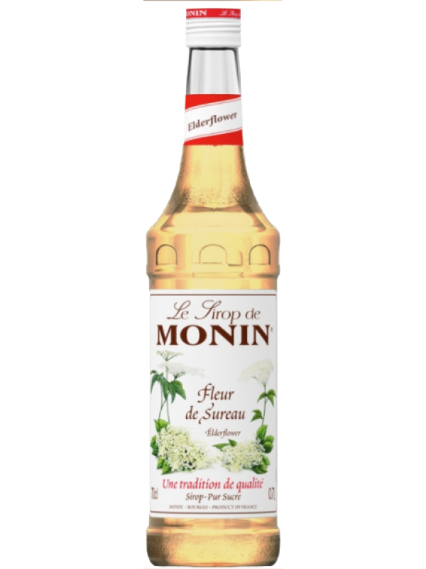 MONIN SIROP ELDERFLOWER 0.7L