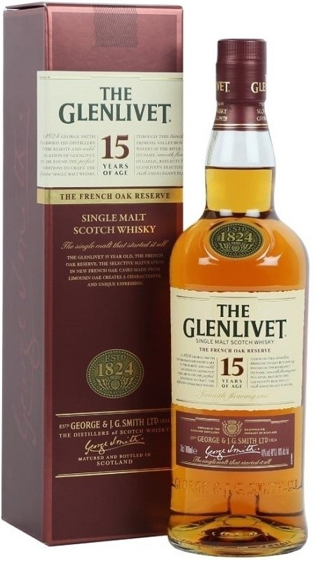GLENLIVET 15 ANI 0.7L