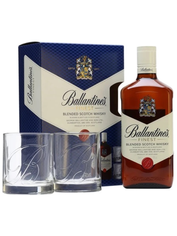 BALLANTINE'S 0.7L+2 PAHARE