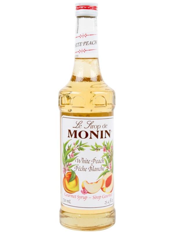 MONIN SIROP WHITE PEACH 0.7L