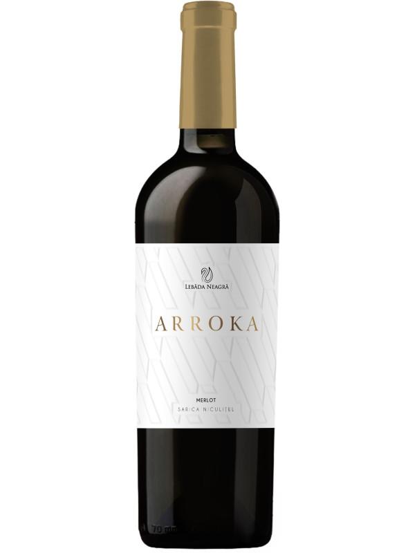 LEBĂDA NEAGRĂ - ARROKA - MERLOT 0.75L