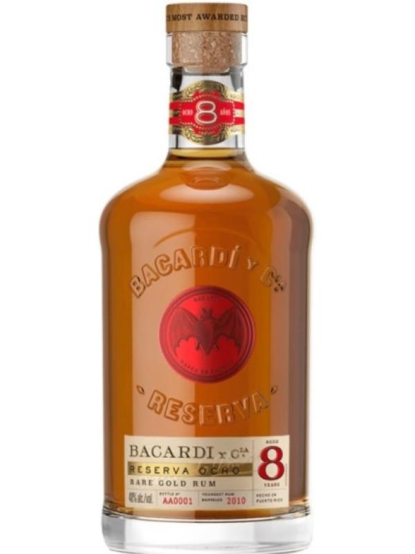BACARDI GRAN RESERVA OCHO 8 Y.O. 0.7L