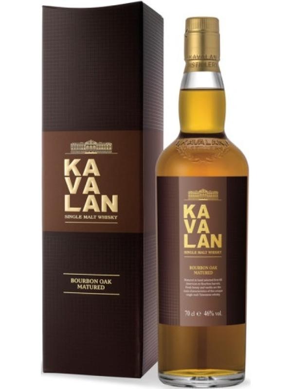 KAVALAN EX-BOURBON OAK SINGLE MALT 0.7L