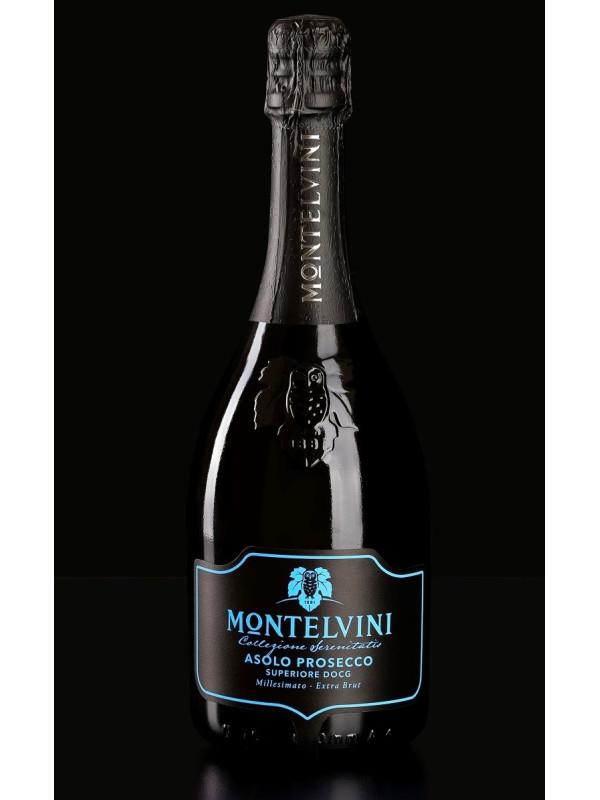 MONTELVINI ASOLO PROSECCO SUPERIORE NIGHT EXTRA BRUT 0.75L