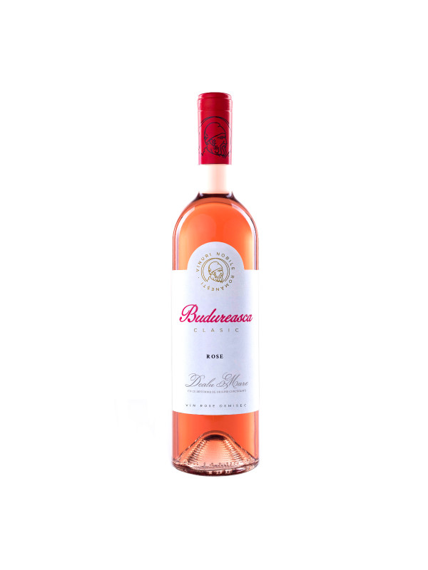 BUDUREASCA CLASIC ROSE 0.75L