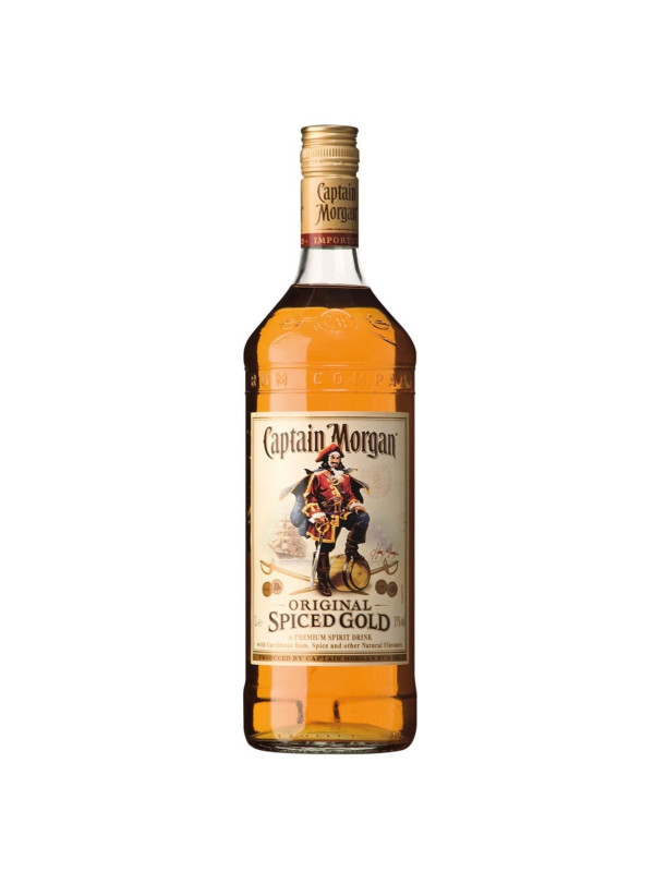CAPTAIN MORGAN SPICED GOLD 1L