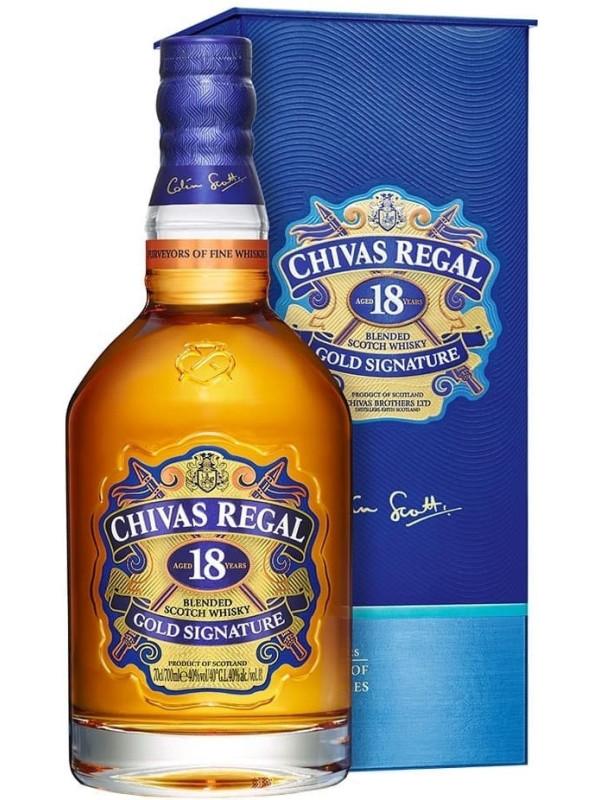 CHIVAS REGAL GOLD SIGNATURE 18 ANI 0.7L