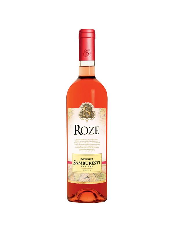 DOMENIILE SAMBURESTI ROSE SEC 0.75L
