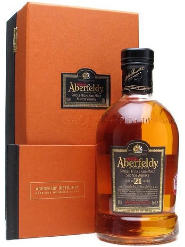 ABERFELDY SINGLE MALT WHISKY 21 Y.O.  0.7L