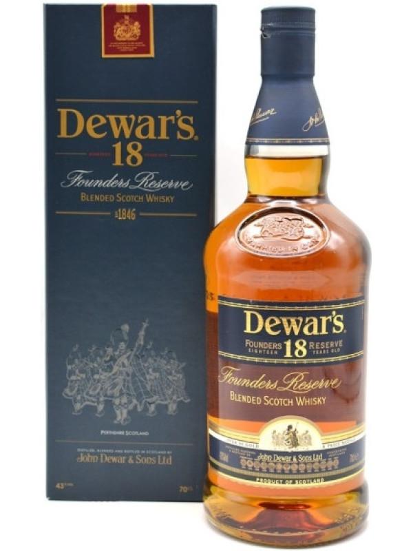 DEWAR'S FOUNDER'S RESERVE 18 Y.O.  0.7L