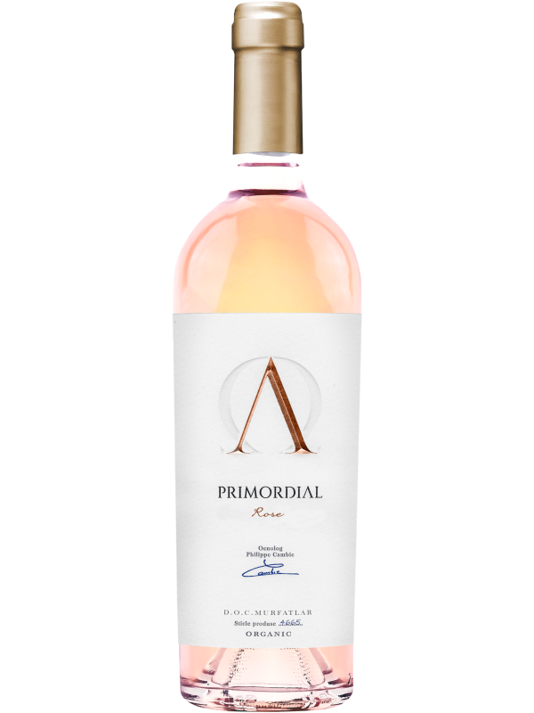 DOMENIUL BOGDAN - PRIMORDIAL MERLOT ROSE 0.75L