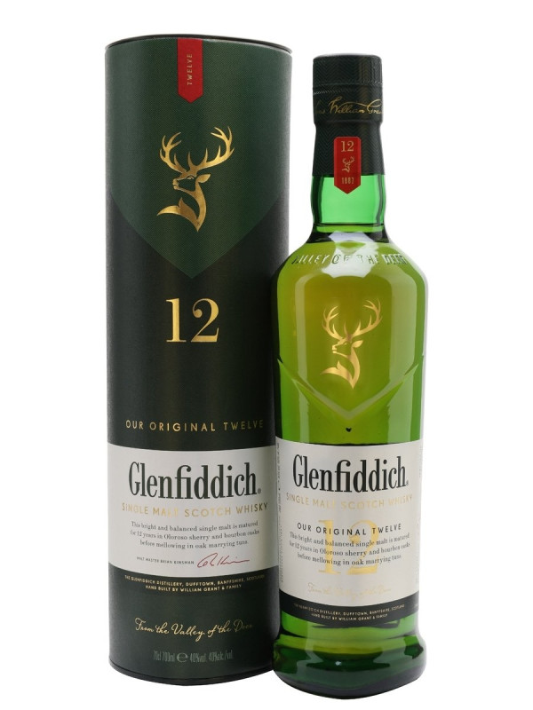GLENFIDDICH 12 ANI 0.7L