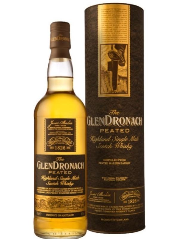 GLENDRONACH PEATED SCOTCH 0.7L