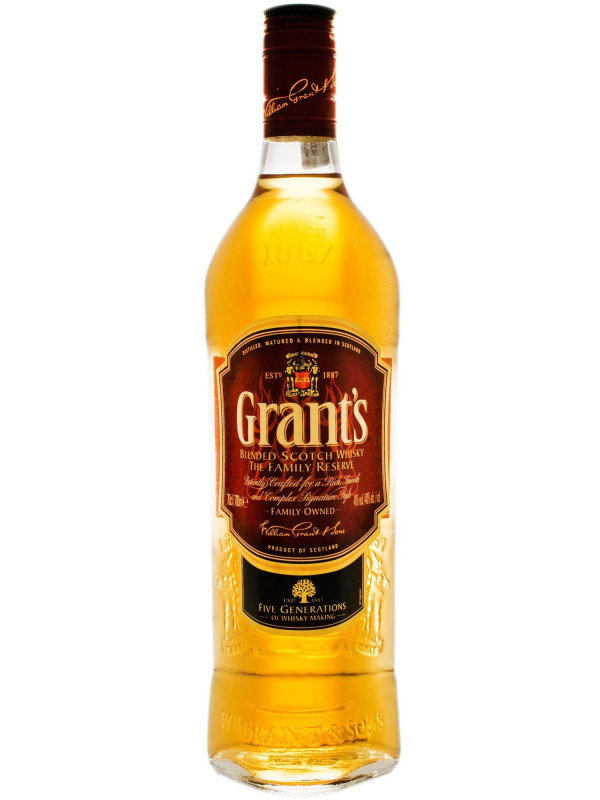 GRANT'S SCOTCH WHISKY THE FAMILY RESERVE 0.7L