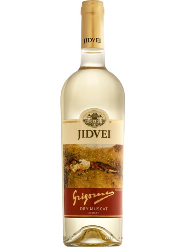JIDVEI - GRIGORESCU DRY MUSCAT 0.75L