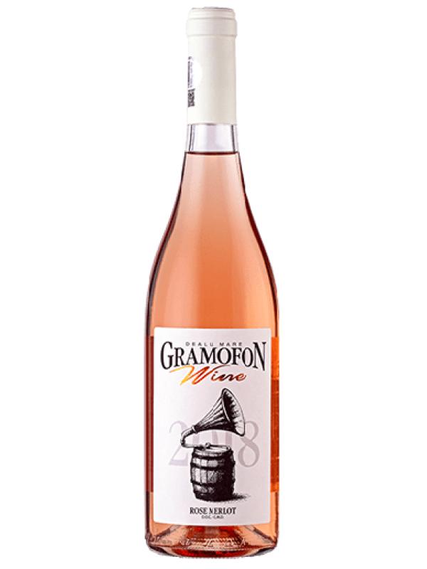 GRAMOFON GW ROSE MERLOT SEC 0.75L