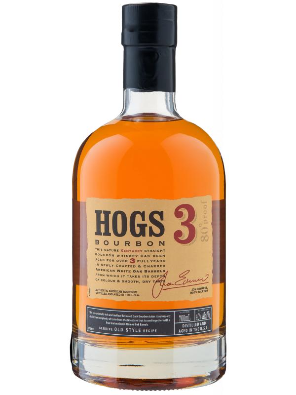 HOGS BOURBON 3 ANI 0.7L