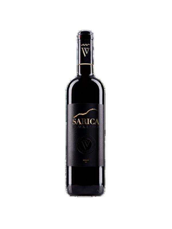 SARICA BLACK MERLOT ROSU SEC 0.75L