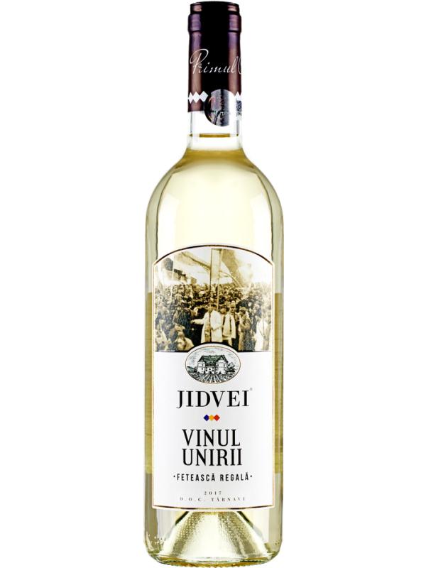 JIDVEI - VINUL UNIRII - FETEASCĂ REGALĂ 0.75L