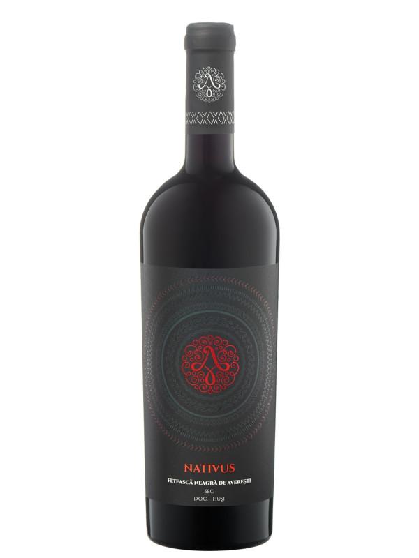 AVEREȘTI NATIVUS FETEASCĂ NEAGRĂ 0.75L