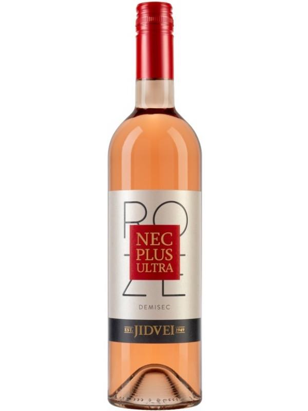 JIDVEI - NEC PLUS ULTRA - ROSE 0.75L