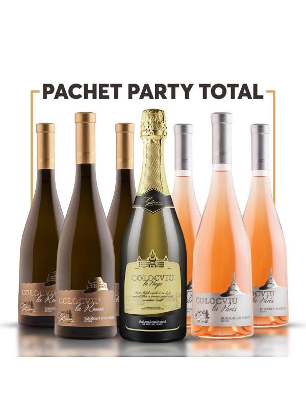 PACHET PARTY TOTAL + VOUCHER + 2 PAHARE