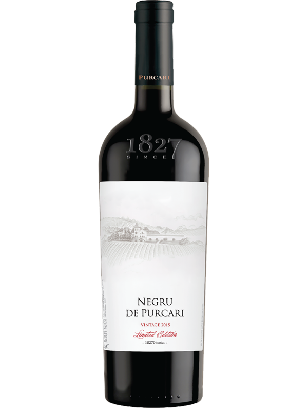 NEGRU DE PURCARI VINTAGE 2015 0.75L