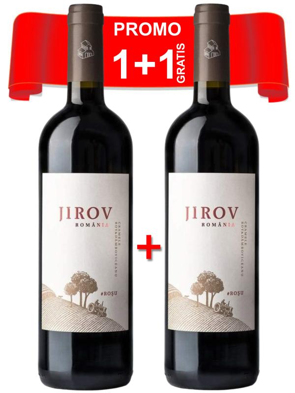 CORCOVA - JIROV ROȘU 0.75L X 2