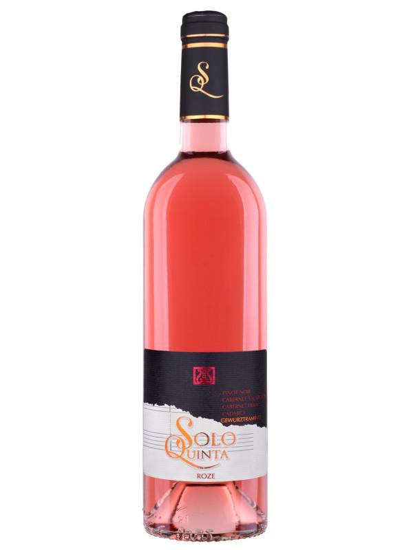 RECAȘ - SOLO QUINTA ROSE 0.75L