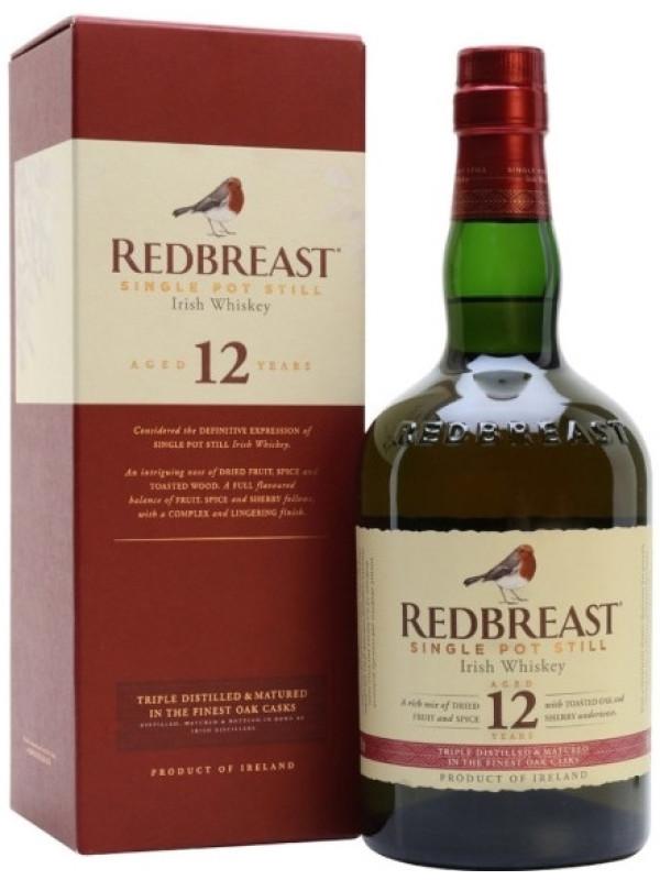 RED BREAST 12 ANI 0.7L