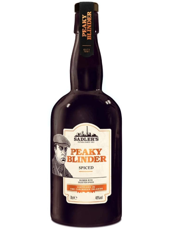 PEAKY BLINDER BLACK SPICED RUM 0.7L
