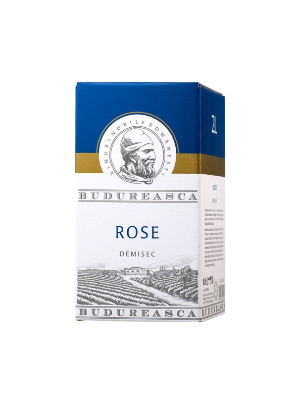BAG IN BOX BUDUREASCA ROSE 2L