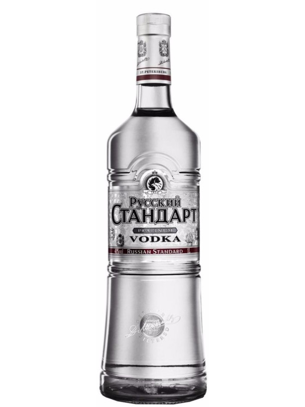 RUSSIAN STANDARD PLATINUM VODKA 1L