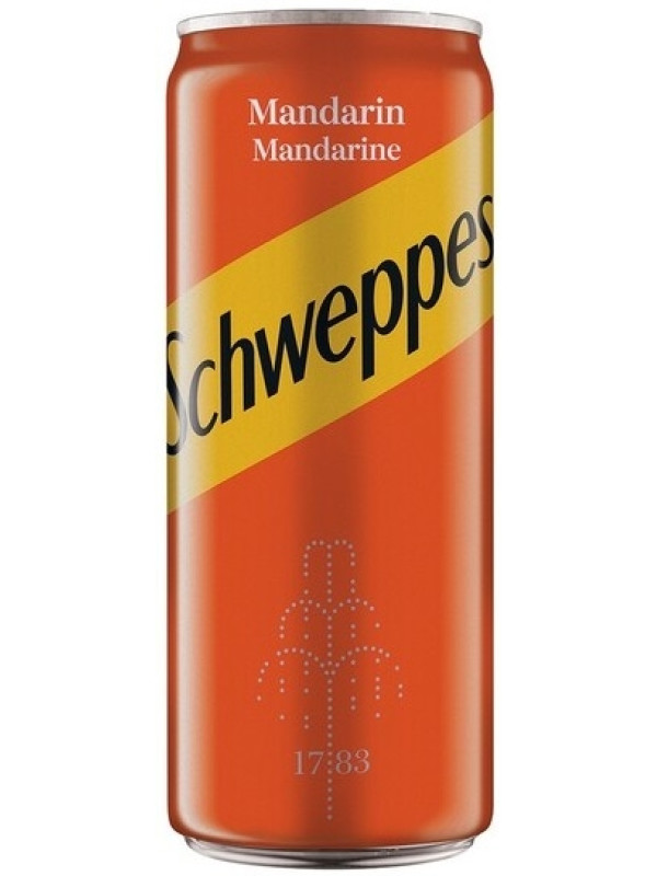 SCHWEPPES MANDARIN 0.33L
