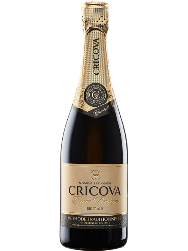 CRICOVA CUVÉE PRESTIGE ALB BRUT 0.75L