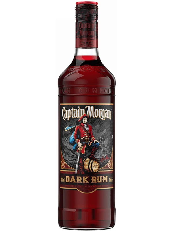 CAPTAIN MORGAN BLACK LABEL - DARK RUM 1L
