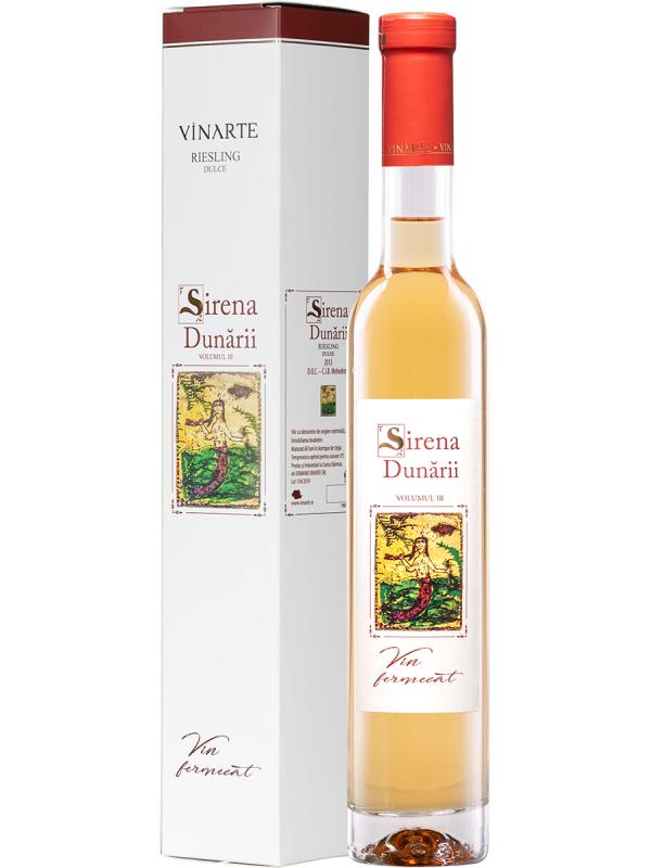 VINARTE - SIRENA DUNĂRII RIESLING 0.75L