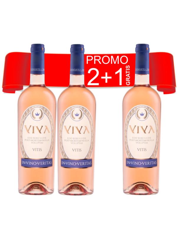 PACHET VINARTE VIVA ROSADO 0.75L