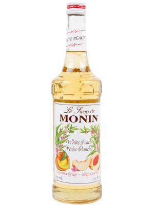 MONIN SIROP WHITE PEACH 0.7L