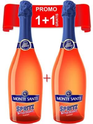PACHET MONTE SANTI SPRITZ BITTER ORANGE 0.75L 1 + 1