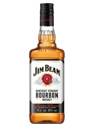 JIM BEAM WHITE BOURBON WHISKY 0.7L