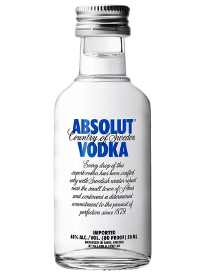 ABSOLUT BLUE 0.05L