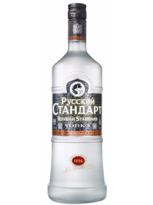 RUSSIAN STANDARD VODKA 1L
