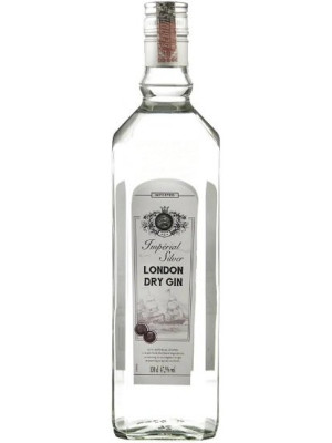 SLAUR IMPERIAL SILVER LONDON DRY GIN 0.7L