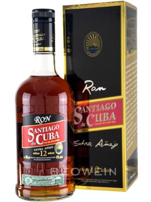 SANTIAGO DE CUBA 12 ANI EXTRA ANEJO 0.7L