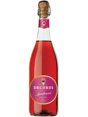LAMBRUSCO ROSATO DECORDI 0.75L