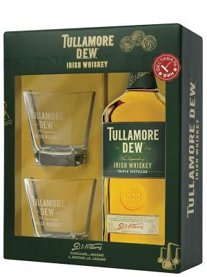 TULLAMORE DEW ORIGINAL 0.7L + 2 PAHARE