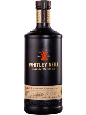 WHITLEY NEILL HANDCRAFTED DRY GIN 0.7L