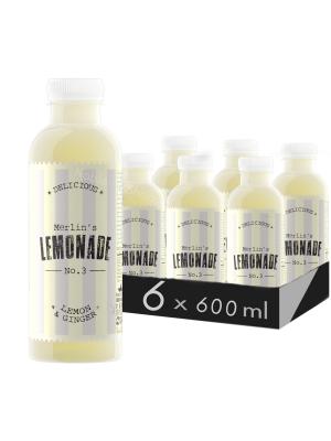MERLIN'S LEMONADE N0.3 - LĂMÂIE & GHIMBIR 0.6L X 6