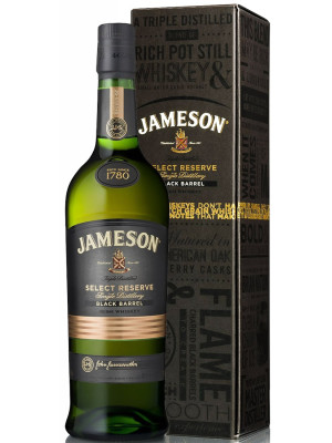 JAMESON SELECT RESERVE BLACK BARREL 0.7L